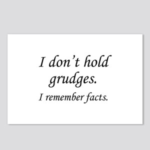 I Don't Hold Grudges Postcards (Package of 8)