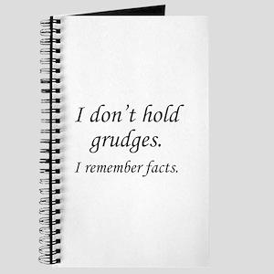 I Don't Hold Grudges Journal