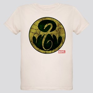 Iron Fist Icon Distressed Organic Kids T-Shirt
