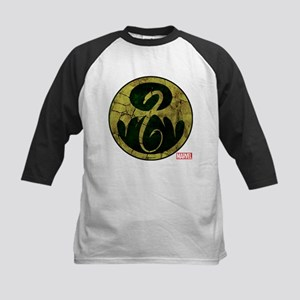 Iron Fist Icon Distressed Kids Baseball Jersey