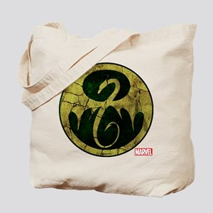 Iron Fist Icon Distressed Tote Bag