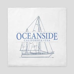 Oceanside CA - Queen Duvet