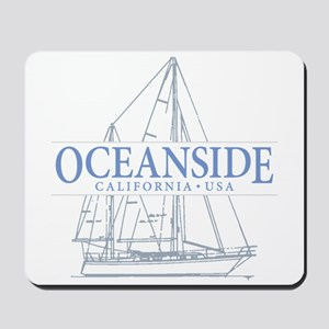 Oceanside CA - Mousepad