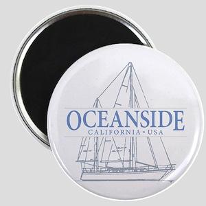 Oceanside CA - Magnet