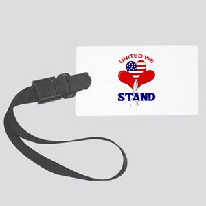UNITED WE STAND Luggage Tag