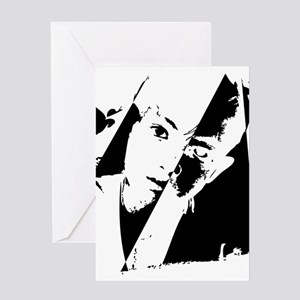 Polar opposite greeting cards cafepress two face greeting cards m4hsunfo