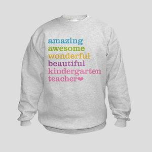 Kindergarten Teacher Kids Sweatshirt