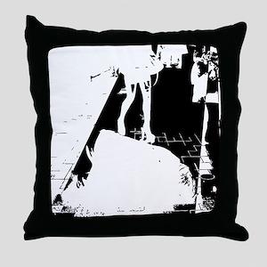 legs city Throw Pillow