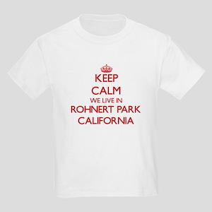 Keep calm we live in Rohnert Park Californ T-Shirt