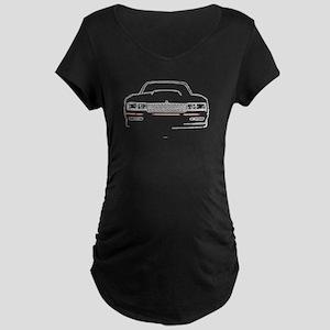 The Full Monte Maternity Dark T-Shirt
