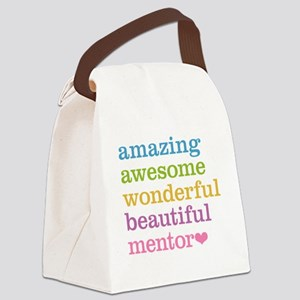 Awesome Mentor Canvas Lunch Bag