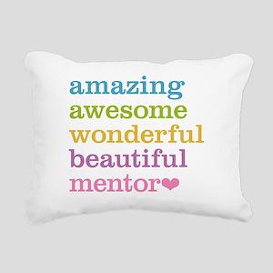 Awesome Mentor Rectangular Canvas Pillow