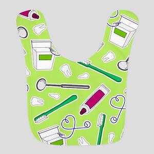 Cute Dentist / Dental Hygienist Print Green and Pu