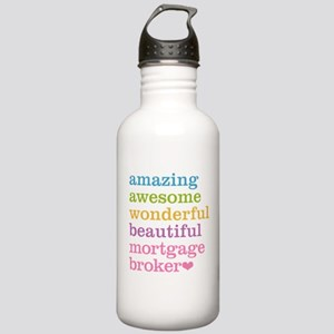 Mortgage Broker Stainless Water Bottle 1.0L