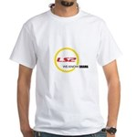 LS2.com White T-Shirt