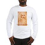 Leonardo da Vinci Long Sleeve T-Shirt