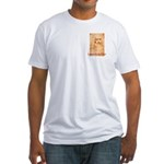 Leonardo da Vinci Fitted T-Shirt