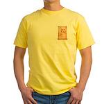 Leonardo da Vinci Yellow T-Shirt