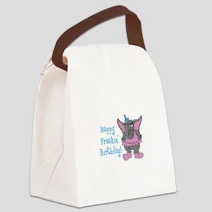 HAPPY FREAKIN BIRTHDAY Canvas Lunch Bag