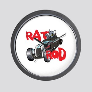 RAT ROD Wall Clock
