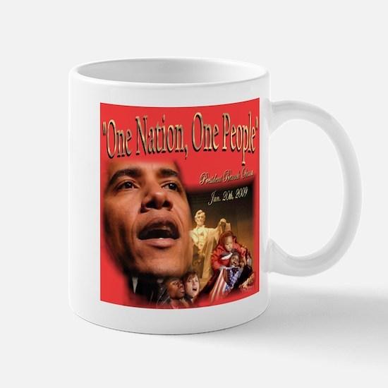 Let Peace Reign Large Mugs