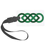 Celtic Knot Large Luggage Tag