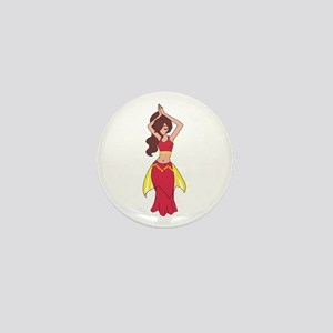 BELLY DANCER Mini Button