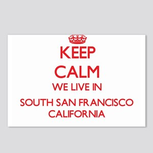Keep calm we live in Sout Postcards (Package of 8)