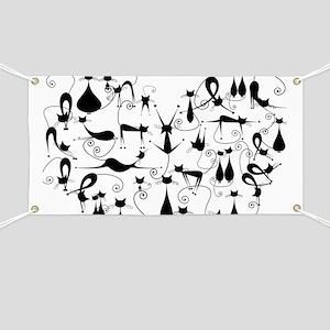 Heart Cats Banner