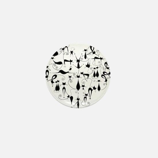 Heart Cats Mini Button