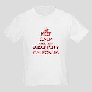 Keep calm we live in Suisun City Californi T-Shirt