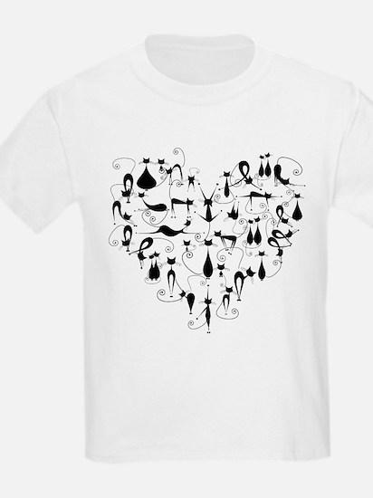 Heart Cats T-Shirt