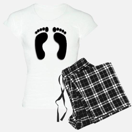 Bare foot Prints Pajamas