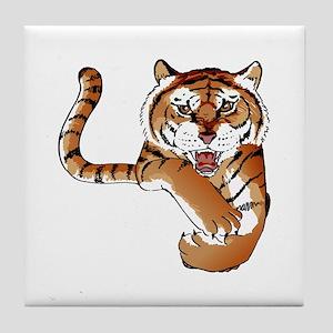TIGER MASCOT Tile Coaster