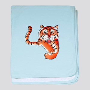 TIGER MASCOT baby blanket