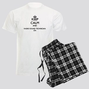 Keep Calm and Radio Sound Tec Men's Light Pajamas
