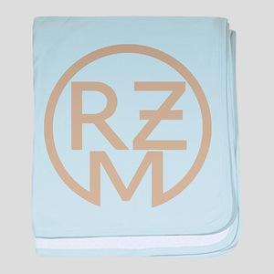 RZM Fahrzeug light kaki baby blanket