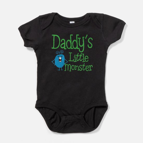 Daddy's Little Monster Baby Bodysuit