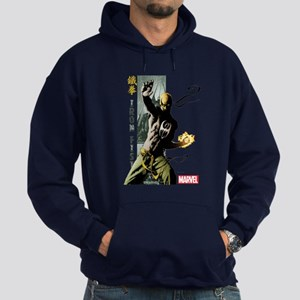 Iron Fist Vertical Cover Painting Hoodie (dark)