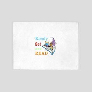 Ready Set Read 5'x7'Area Rug
