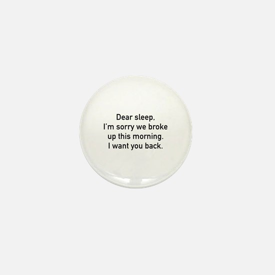 Dear Sleep Mini Button