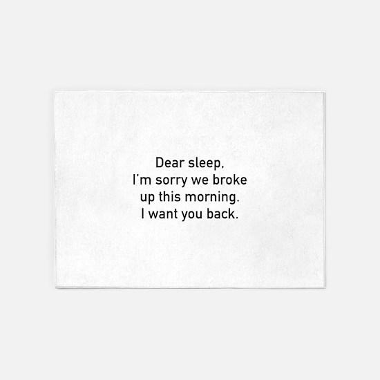 Dear Sleep 5'x7'Area Rug