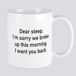 Dear Sleep Mug