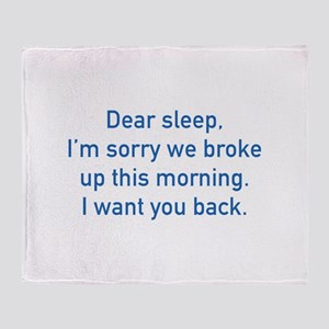 Dear Sleep Stadium Blanket
