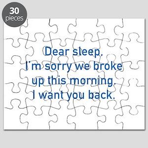 Dear Sleep Puzzle