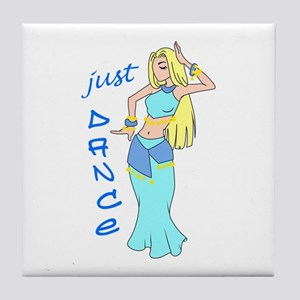 JUST DANCE Tile Coaster