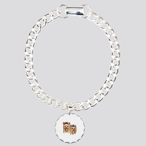 YORKSHIRE TERRIER HEADS Bracelet