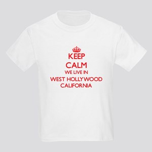 Keep calm we live in West Hollywood Califo T-Shirt