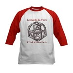 Polyhedra Kids Baseball Jersey