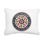 Second Amendment Rectangular Canvas Pillow